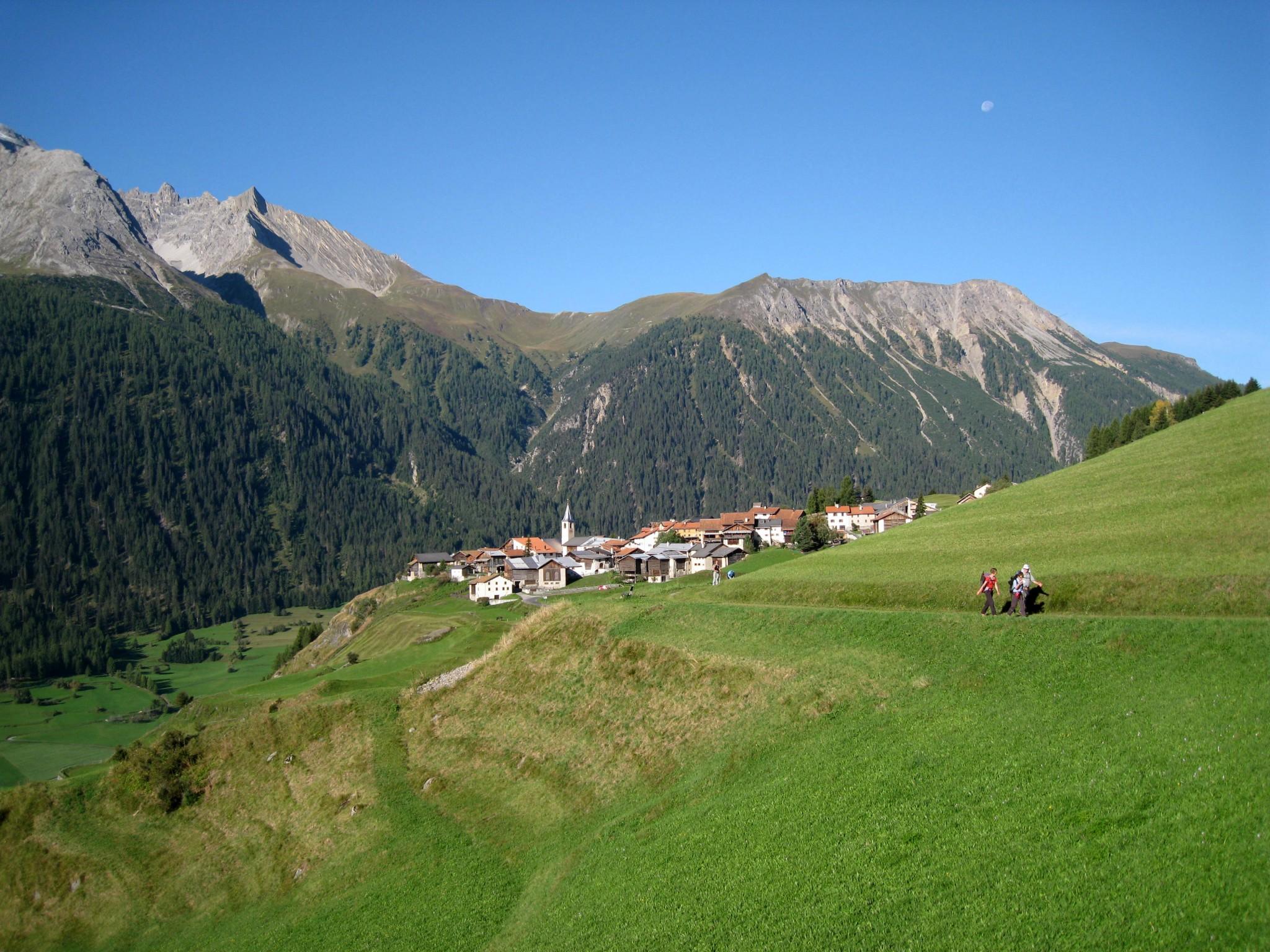 De cabane à cabane, de Bergün à Klosters