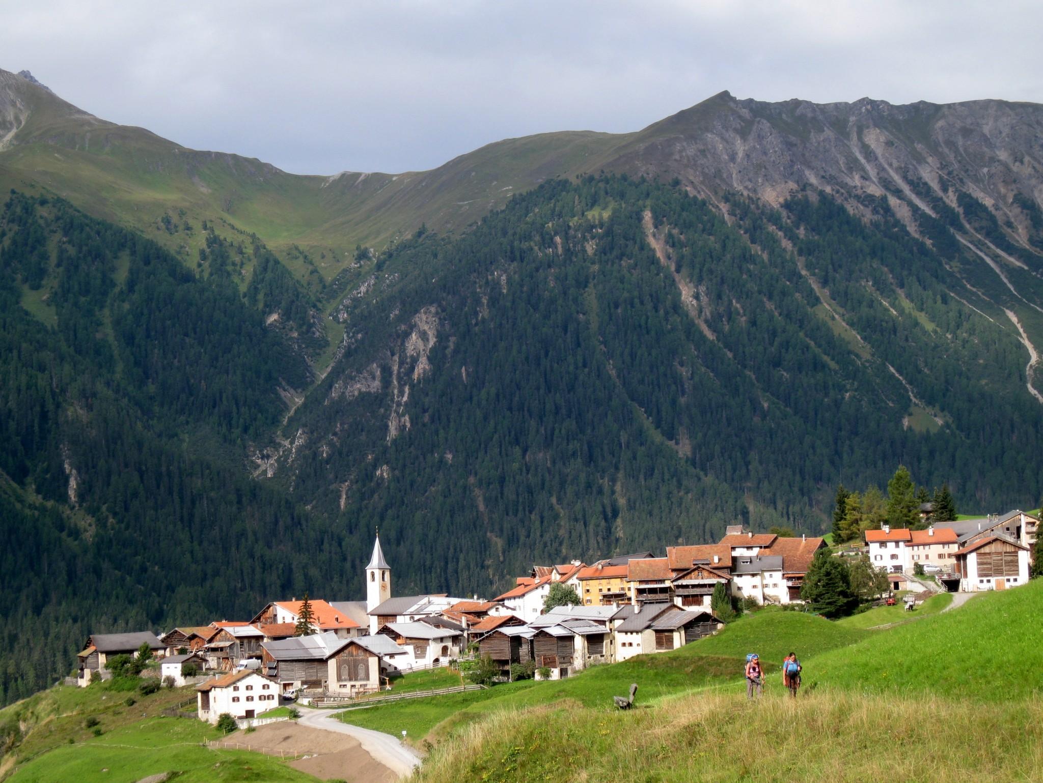 Hut-to-hut, Bergün to Klosters