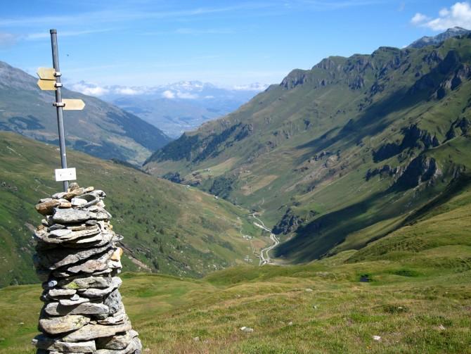 Historic Walser route, Grisons