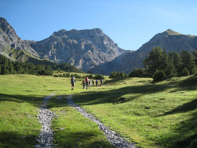 National Park and Lower Engadine: five-day trek