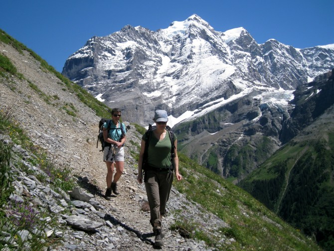 Panoramic hiking weekend, Bernese Oberland