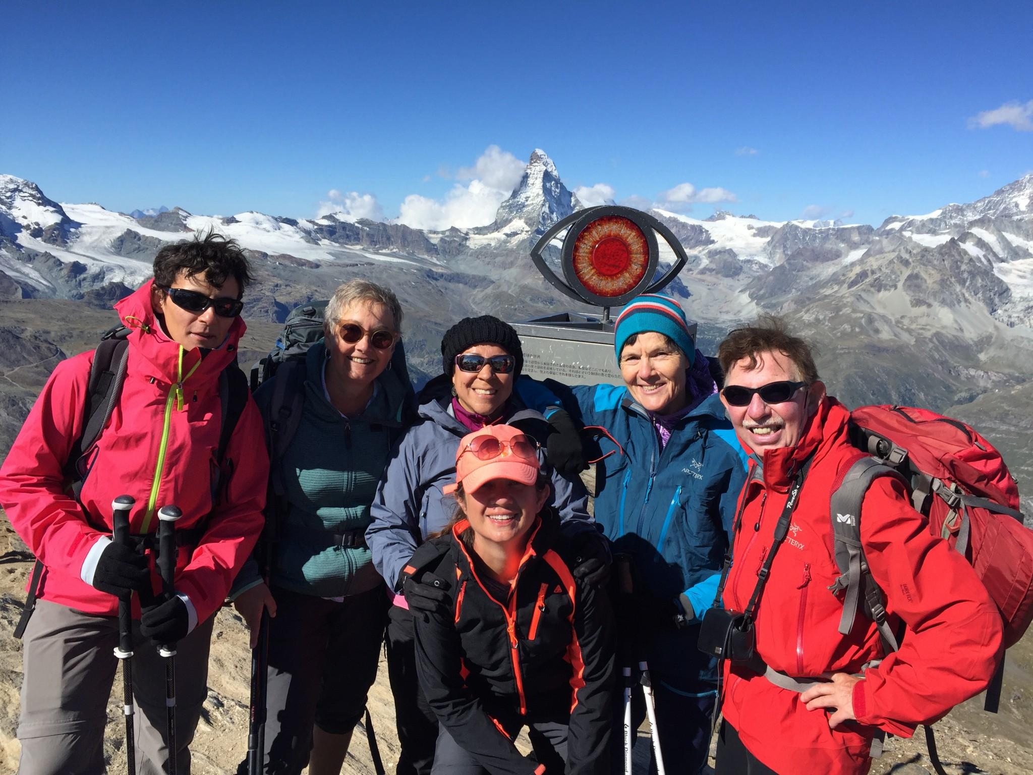 Above Zermatt