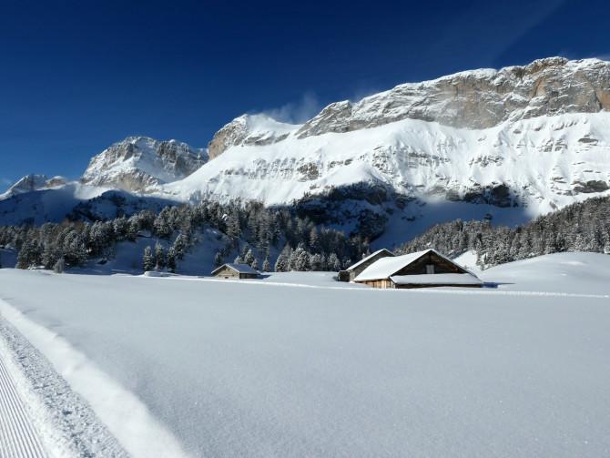 Randonnées hivernales, Kandersteg